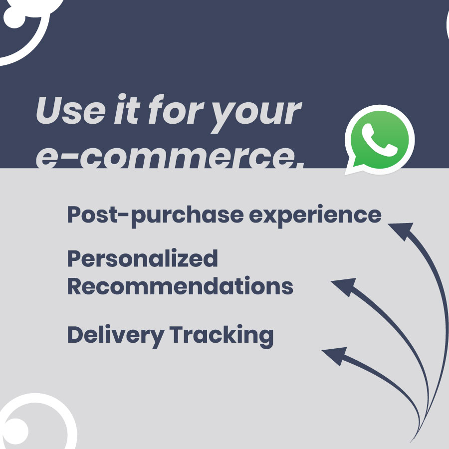 Whatsapp business for your ecommerce