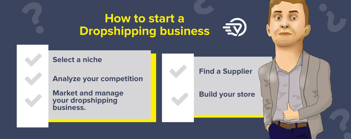 steps to start a dropshipping business